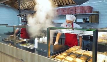 «Гаряча точка» в супермаркеті: вітрини для фаст-фуд від Aisberg