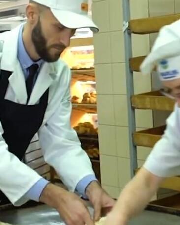 """Зірки """"Варуса"""" попрацювали в супермаркеті"""