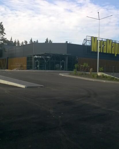 Вже скоро. Новий «МегаМаркет» відкриє свої двері для відвідувачів