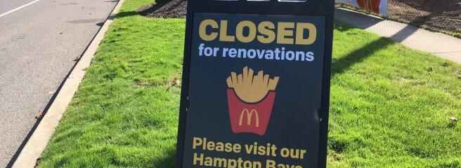McDonald's закроет 150 своих точек вмагазинах Walmart