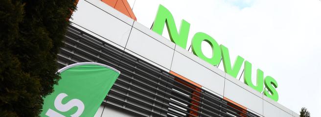 Юбилейный 10 магазин NOVUS после ребрендинга