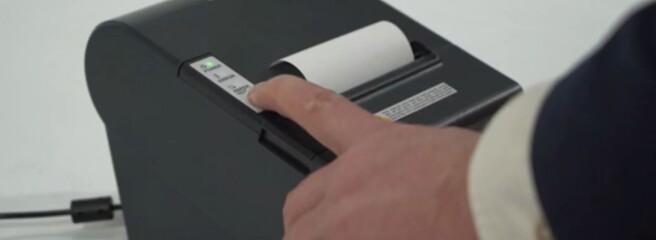 """Принтер чеків GEOS RP-3101 від компанії """"Гера"""""""