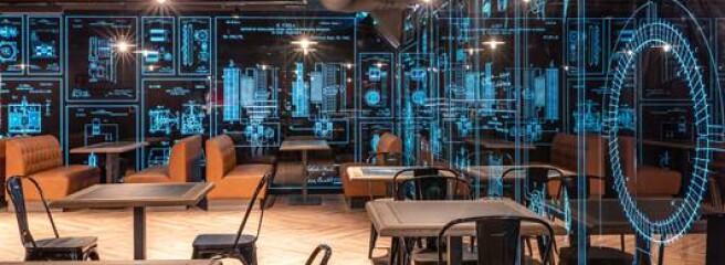 «Сильпо» открыл тематический супермаркет, посвященный жизни и изобретениям Николы Теслы