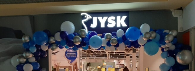 Весной JYSK обновляется: 5 магазинов заработают в новом формате