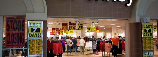 В США очікується закриття 10 тис. магазинів в поточному році