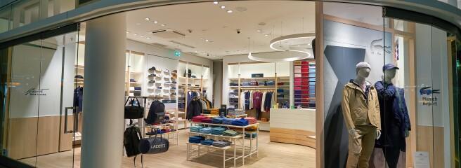 Lacoste дебютирует сновой концепцией магазина вУкраине