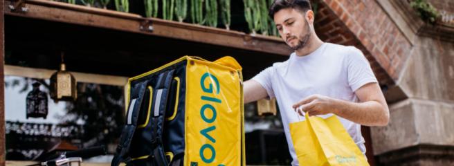 Сервіс доставки Glovo працюватиме цілодобово вКиєві, Одесі, Харкові, Львові таДніпрі