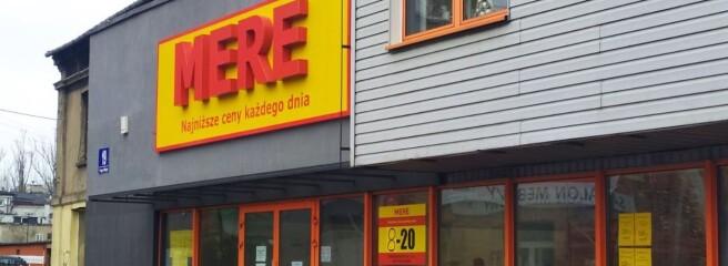 Российская сеть жестких дискаунтеров Mere открывает очередные магазины вПольше