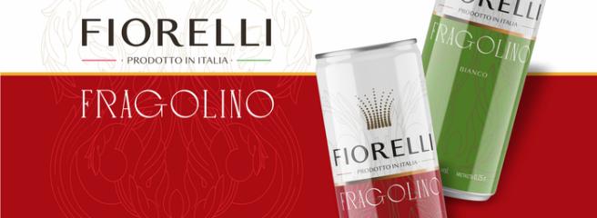 Бренд «Fiorelli» представив новинку: напій Fragolino від «Fiorelli» валюмінієвій пляшці