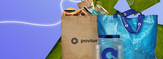 Перший в Україні онлайн-супермаркет з використанням повторної тари запустили у Львові