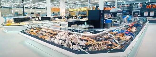 Ефективна реновація Велмарт: чотири масштабних зони гіпермаркету оснащено холодильними вітринами Aisberg вергономічних модифікаціях