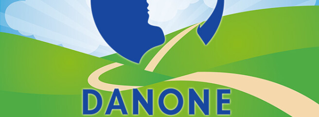 Продажи Danone снизились более чем на9%