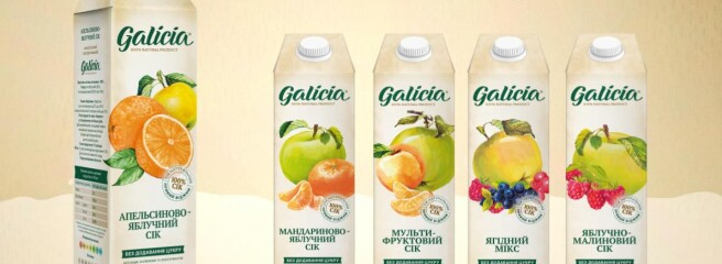 Galicia: «натуральні соки— цереальність»