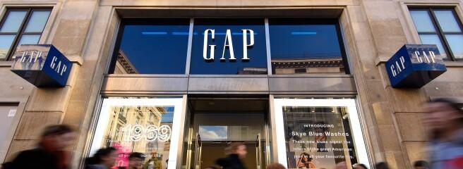 Gap: сначала Европа, потом Китай