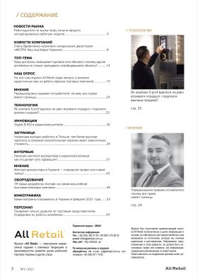 All Retail, березень 2021